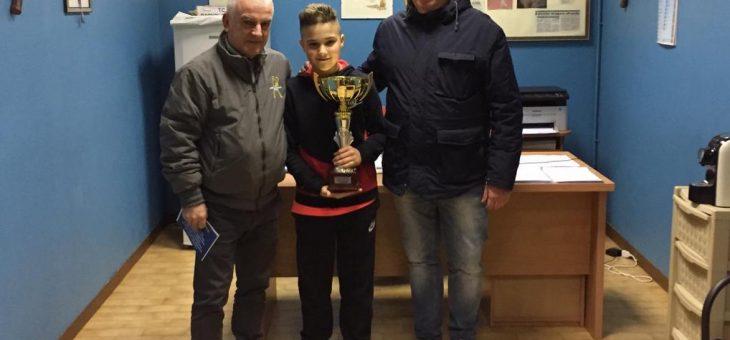 Daniel Lechner vince il Torneo Rodeo U14