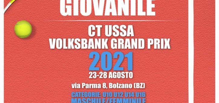 """Una settimana al via del Torneo Nazionale Giovanile """"Volksbank Grand Prix 2021"""""""