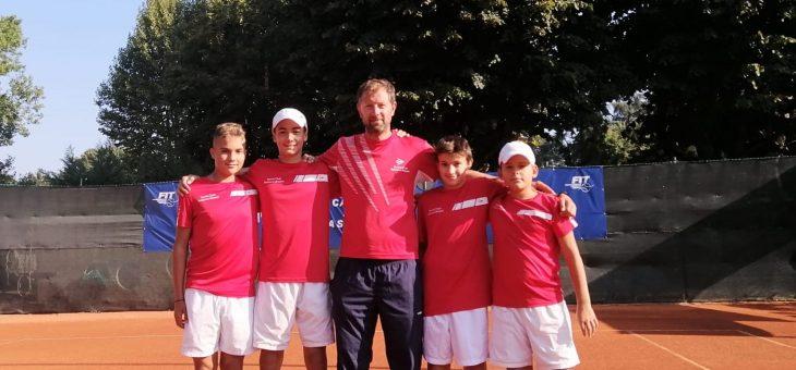 Campionati Nazionali a Squadre – Prestigioso quinto posto per la Tennis Academy U14