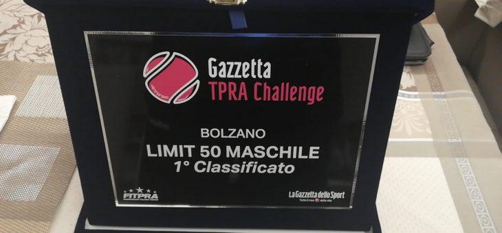 Lorenzo Albani vince il Gazzetta TPRA Challenge Limit 50